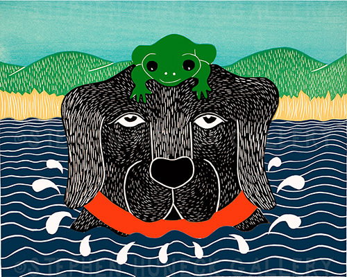 Frog - Giclee Print