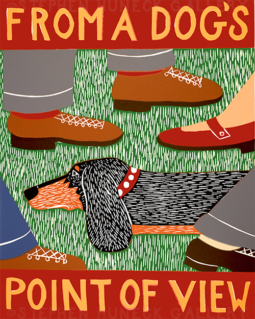 From a Dog's Point of View - Giclee Print