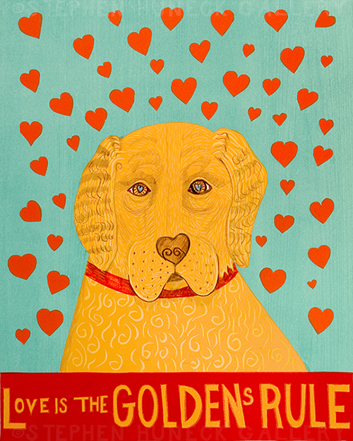 Golden's Rule - Giclee Print