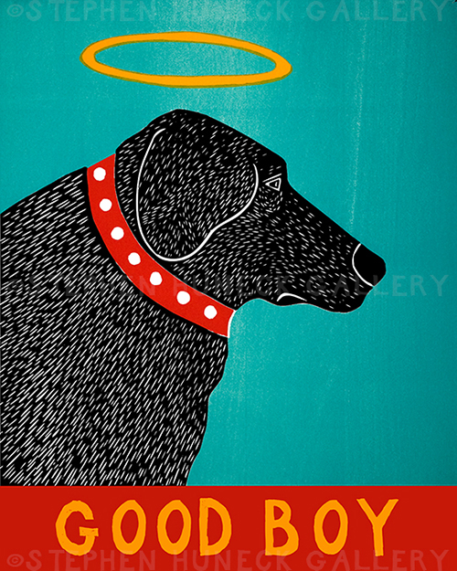 Good Boy - Giclee Print