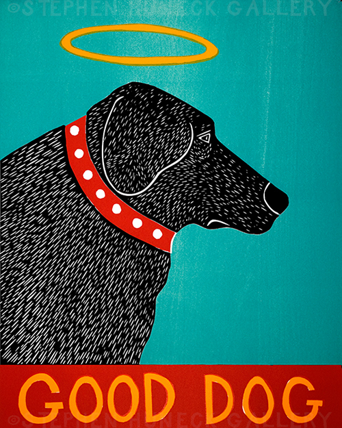Good Dog - Giclee Print