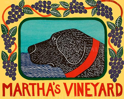 Martha's Vineyard Grapes - Giclee Print