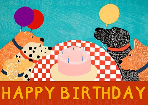 Happy Birthday - Giclee Print