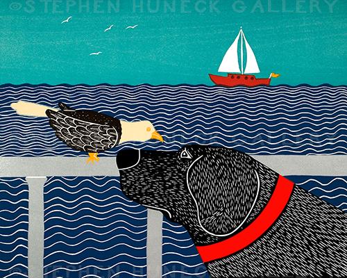 I See a Bird - Giclee Print