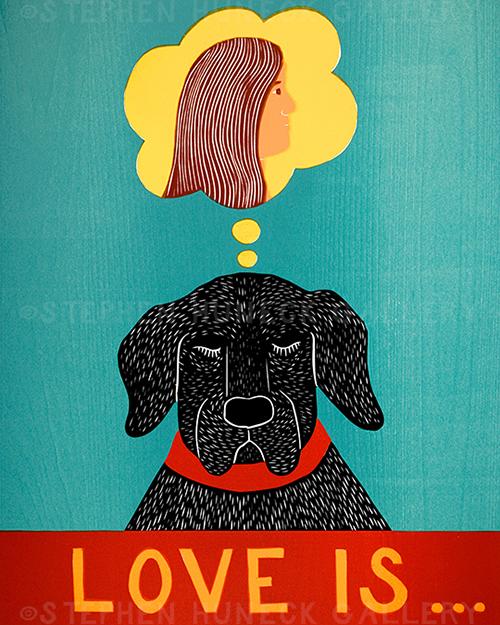 Love Is... - Giclee Print