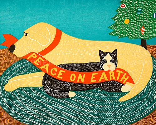 Peace on Earth - Giclee Print