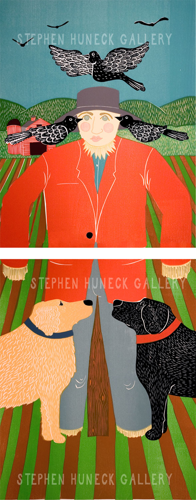 The Scarecrow - Diptych Giclee