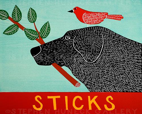 Sticks - Giclee Print
