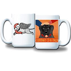 2's Company 3's a Pack Mug