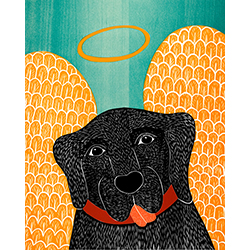 Angel Dog - Giclee Print