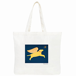 Angel Dog - Tote Bag