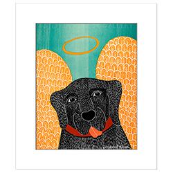 Angel Dog - Transparent Giclee