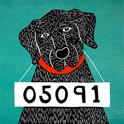 Bad Dog 05091 - Giclee Print