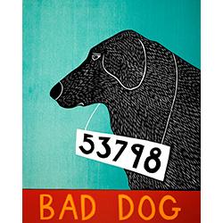 Bad Dog 53798 - Giclee Print
