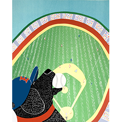 Ball Park Champs 2007 - Giclee Print