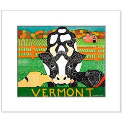 Bessie-Vermont - Transparent Giclee