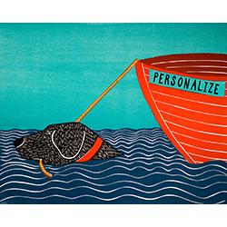 Boat - Customizable Print