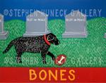Bones - Giclee