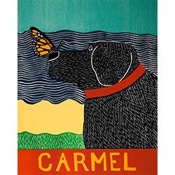Butterfly-Carmel - Giclee Print