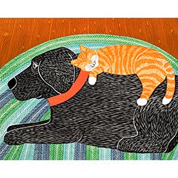 Catnap - Giclee Print