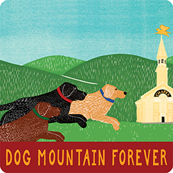 Dog Mountain Forever - Sticker Decal
