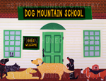 Dog Mountain School - Giclee