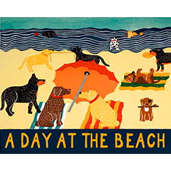 Day at the Beach - Giclee Print