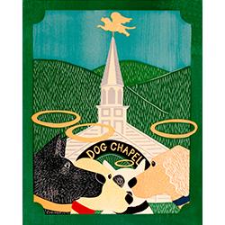 Dog Chapel II - Giclee Print