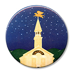 "Night Chapel - 2.25"" Round"
