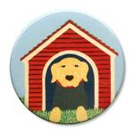 """Dog House - 2.25"""" Round"""