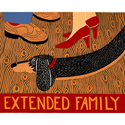 Extended Family - Giclee Print