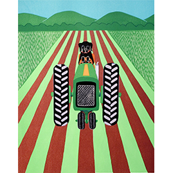 Farmer - Giclee Print