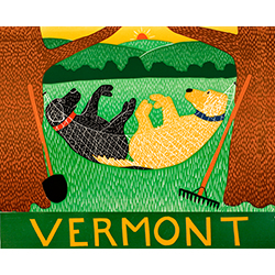 Farming is Hard Work-Vermont - Giclee Print