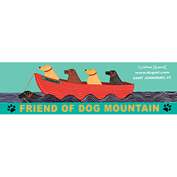 Friend of Dog Mountain - Bumper Sticker