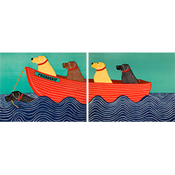 Friendship - Diptych Print