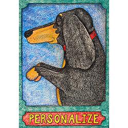 Genius - Customizable Crayon Print