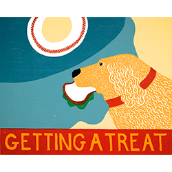 Getting a Treat-Sandwich - Giclee Print