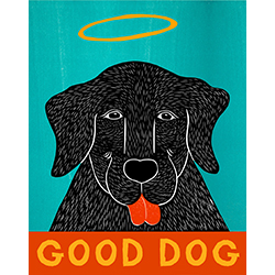 Good Dog-Happy Lab - Giclee Print