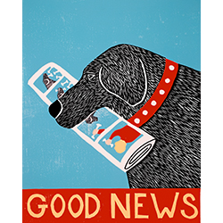 Good News - Giclee Print