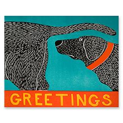 Greetings - Magnet