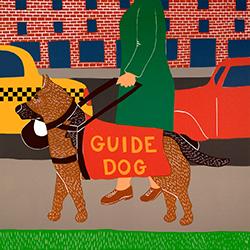 Guide Dog - Giclee Print