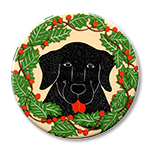 "Holiday Sally - 2.25"" Round"