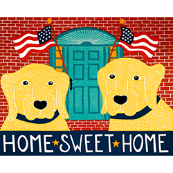 Home Sweet Home - Original Woodcut