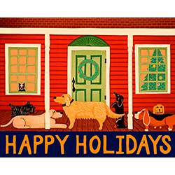Home for the Holidays - Giclee