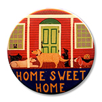"Home Sweet Home II - 2.25"" Round"