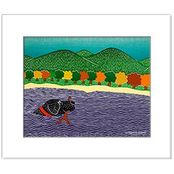 I like Sticks-Autumn (Color Choice) - Transparent Giclee