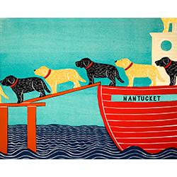Island Ferry-Nantucket - Giclee Print