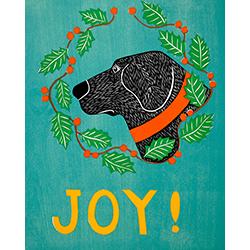 Joy - Original Woodcut