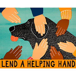 Lend a Helping Hand - Giclee Print