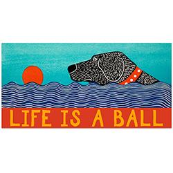 Life is a Ball - Bumper Sticker Magnet
